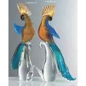 oiseau tropicaen verre formia v46532b aa