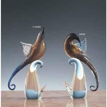Oiseau tropical en verre Formia -V44058
