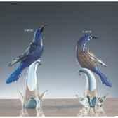 oiseau tropicaen verre formia v44120