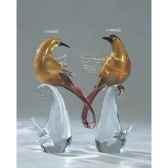 oiseau tropicaen verre formia v44058z