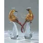 oiseau tropicaen verre formia v44059z