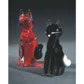 chat en verre formia v41082