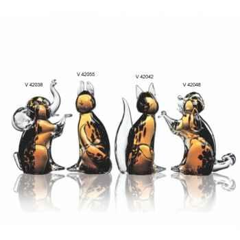 Chat en verre Formia -V42042