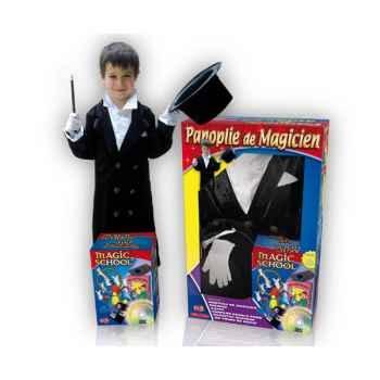 Coffret Costume Magicien 100 tours 8-10 ans  Oid Magic avec DVD-COS8