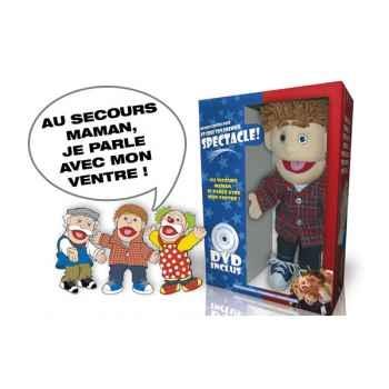Coffret de ventriloquie marionnette Oid Magic avec DVD-VEN