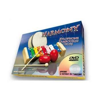 Harmony xylophone oeuf tambourin Oid Magic avec DVD-MU2