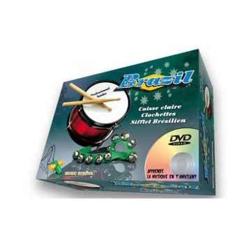 Brasil tambour sifflet clochette Oid Magic avec DVD-MU4