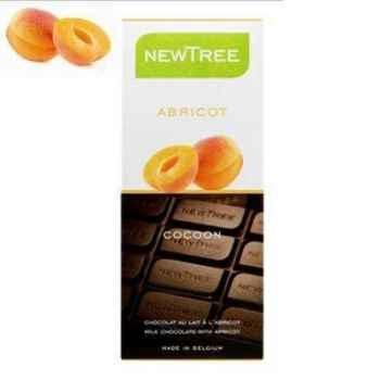 Tablette de chocolat Newtree Lait Bikini Abricot -P04AA041402