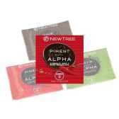 lot 24 disques pastilles alpha newtree noir piment p10af042319