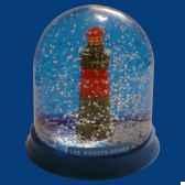 boule neige phare pierres noires bn013