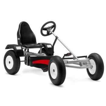 Kart à pédales Berg Toys Extra AF d\'argent-03358200