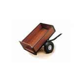 remorque benne basculante noire pour kart bt182614