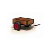 benne de base sur cadre remorque kart berg toys 180635