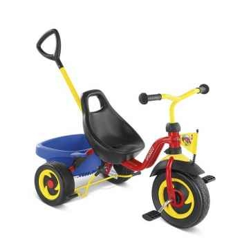 Tricycle Puky Cat1s Rouge -2323