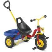 tricycle puky cat1rouge 2333