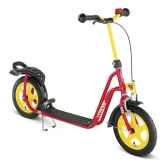 trottinette rouge puky r045353