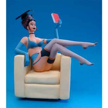 Figurine Parastone Figurine Pin Up Student - Etudiante - PU 12