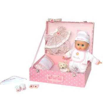 Poupon Petit câlin souple mallette bebe adore PetitCollin-622898