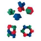 cubes logiques plan toys en bois 5333