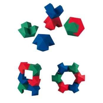 Cubes logiques Plan Toys en bois - 5333