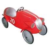 voiture de course a pedales le mans rouge baghera 1924f