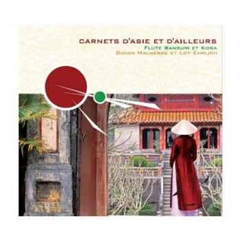 CD Carnets d'Asie et d'ailleurs - Flûte Bansuri et Kora Vox Terrae -17109980
