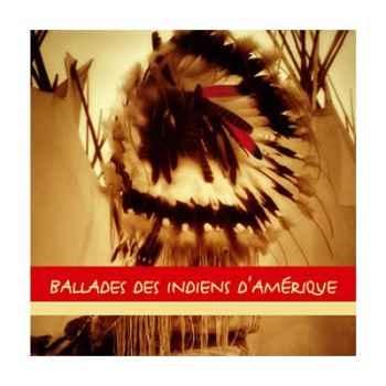 CD Ballades des Indiens d'Amérique Vox Terrae -17109270