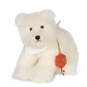 Peluche Hermann Teddy Original® Bébé ours polaire, en Alpacca mohair limitée -10818 4