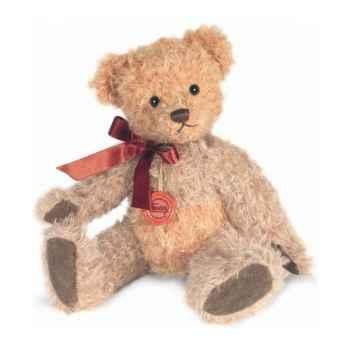 Peluche Hermann Teddy Original® Ours Cinnamon, en mohair édition limitée -12130 5
