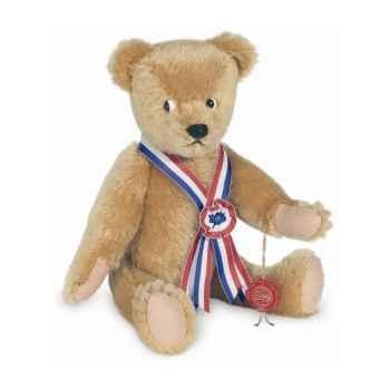 Peluche Hermann Teddy Original® Ours campagne Bär, en mohair édition limitée -13835 8