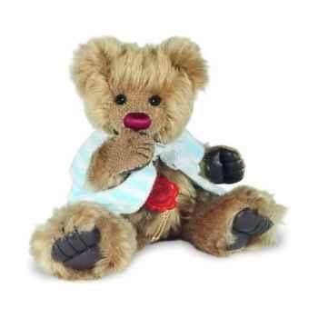 Peluche Hermann Teddy Original® Ours Däumeling or, en mohair édition limitée -15072 5