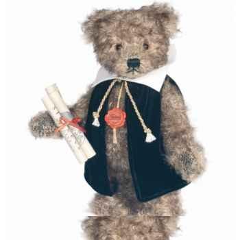 Peluche Hermann Teddy Original® Ours Galileo Galilei, en mohair édition limitée -15526 3