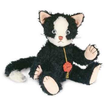 Peluche Hermann Teddy Original® Chat Mohrle, en mohair édition limitée -15701 4