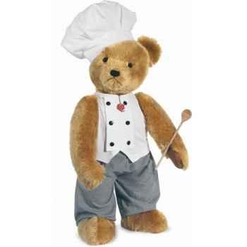 Peluche Hermann Teddy Original® Ours Stehbär Koch, en mohair édition limitée -17403 5