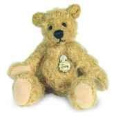 peluche hermann teddy ours dore avec porte cles edition limitee 16219 3