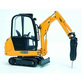 Mini excavatrice JCB 8016 avec marteau hydraulique Joal-233