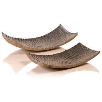 Vases-Modèle Eddy Bowl Narrow 80,  surface granite-bs3438 gry/vrd