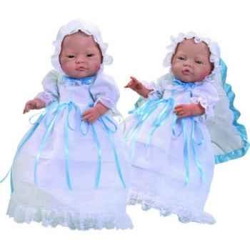 Poupon européen Paola Reina en robe de baptême-763