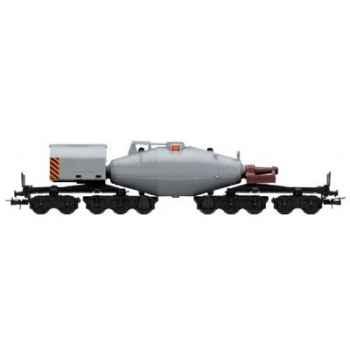Gamme Junior Jouef Wagon Torpille Fonte Liquide -hj6037
