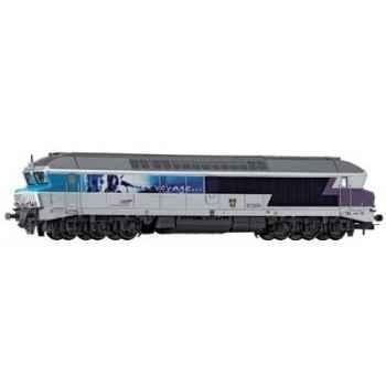 Locomotive Diesel Jouef CC72074 Toulon SNCF -hj2059