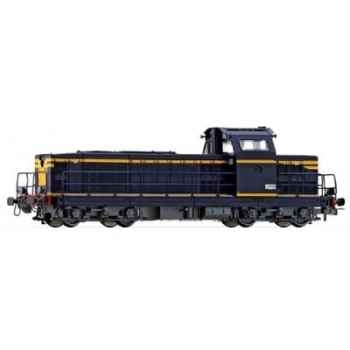 Locomotive Diesel Jouef BB66400 Bandes Jaunes -hj2029