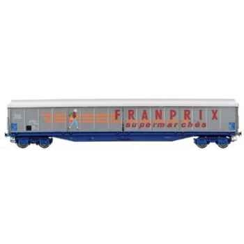 Wagon Couvert Jouef Franprix SNCF -hj6012