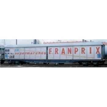 Wagon Couvert Jouef Franprix -hj6013