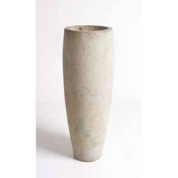 Vases-Modèle Mati Planter, surface pierre romaine-bs3114ros