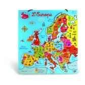 carte d europe magnetique vilac 2584