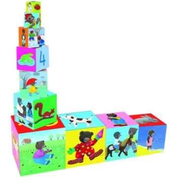 Cubes gigognes petit ours brun Vilac-6026