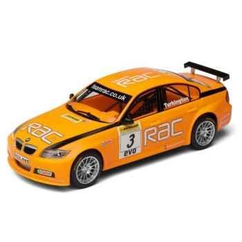 Voiture Tourisme High Detail Scalextric BMW 320 SI Turkington BTCC 2007 Independents Cup Winner -sca2909