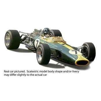 Voiture Classique Scalextric Lotus Type 49 Graham Hill -sca3031