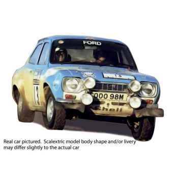 Voiture Classique Scalextric Ford Escort Mk1 RS 1600 1973 Rac Rally Winner -sca3029