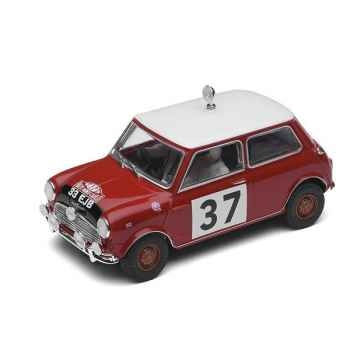 Voiture Classique Scalextric Morris Mini Cooper 1964 Monte Carlo Rally Paddy Hopkirk Henry Liddon -sca2919